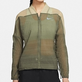 Nike AS W Icnclsh Jacket 女 軍綠 慢跑 反光 運動 風衣 外套 CU3049-380