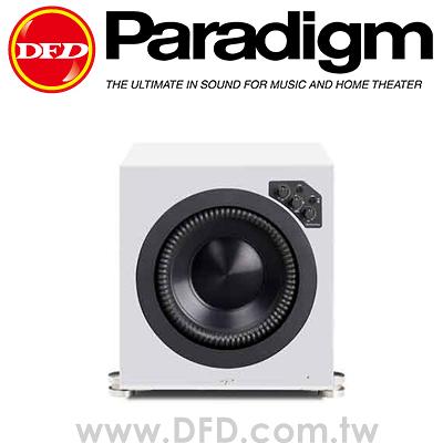加拿大 Paradigm Prestige 1000SW 主動式超低音喇叭 核桃木 光澤白 公司貨