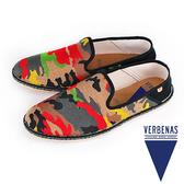 【VERBENAS】Tabarca塔巴卡帆布草編鞋/男仕休閒鞋  多色迷彩(006-ROJO)