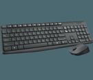 羅技MK235無線鍵鼠組 全尺寸、耐用、簡單