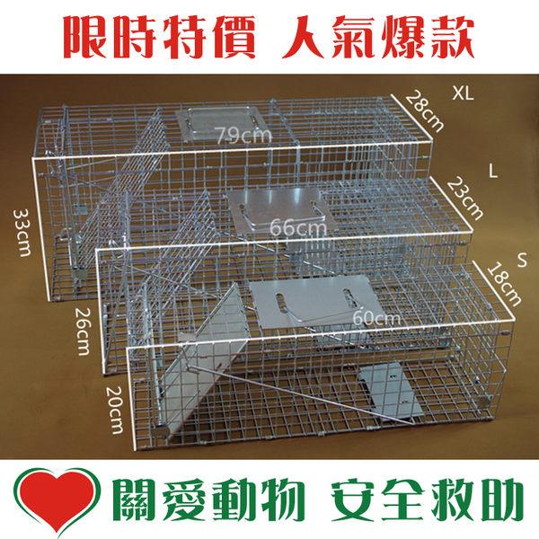 折疊式捕貓籠/松鼠籠S號 YG-201