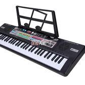 電子琴 兒童寶寶初學者音樂玩具3-6-8-12歲61鍵電子琴男女孩鋼琴帶麥克風 數碼人生igo