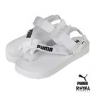Puma Summercat 白色 繃帶 涼鞋 女款 NO.J0441【新竹皇家 37483702】