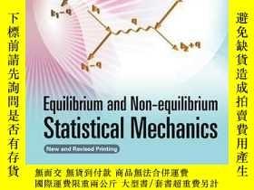二手書博民逛書店Equilibrium罕見And Non-equilibrium Statistical MechanicsY