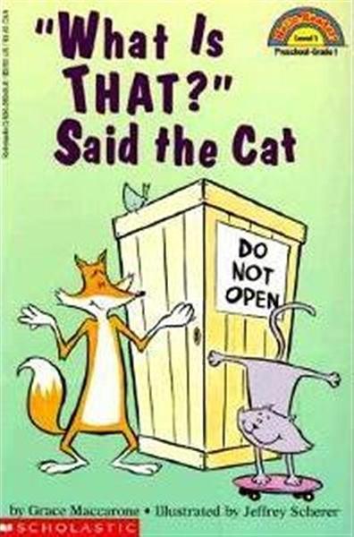 (二手書)Scholastic Reader Level 1: What is That? Said the Cat