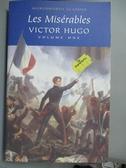 【書寶二手書T4/原文小說_LLQ】Les Miserables: Volume 1_Hugo, Victor