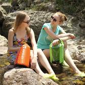 多功能防水透明窗袋(8L) 專業漂流袋 手提 防偷袋 戶外 溯溪【P304】米菈生活館
