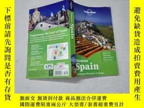 二手書博民逛書店Lonely罕見Planet: Discover Spain孤獨