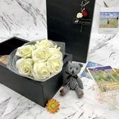 香皂花束禮盒 現貨韓版 婚禮小物 畢業聚會 情人生日禮物 聖誕禮物 玫瑰花束 (盒)