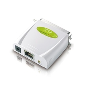 ZO零壹 PA101 平行埠印表伺服器 (綠色包裝)