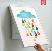電錶箱裝飾畫豎款開箱開關電錶盒-大號雲朵