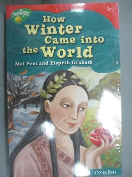 【書寶二手書T4/語言學習_GVJ】Tree Treetops-How winter came into the world_共6本合售