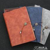 筆記本 商務筆記本文具中國風活頁辦公會議復古記事本厚工作日記本子  提拉米蘇