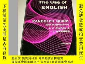 二手書博民逛書店The罕見Use Of EnglishY256260 Randolph Quirk Longman 出版19