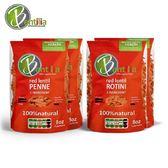 【BENTILIA】美國原裝進口紅扁豆義大利麵(螺旋/筆管)8包組-電電購