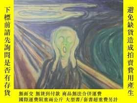 二手書博民逛書店英文原版Edvard罕見Munch 1863-1944愛德華·蒙