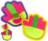 全館85折兒童玩具親子運動粘靶球拋接球吸盤球幼兒園體育手掌粘粑球拍