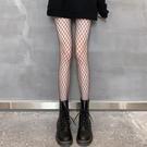 絲襪 黑色絲襪性感網紅夏季薄款jk黑絲蕾絲網格襪子女辣妹漁網襪女ins 韓菲兒