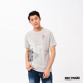 Big Train 魚躍清海波圓領短袖-男-Z80137