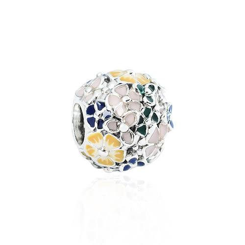 Pandora 潘朵拉 經典琺瑯花園 純銀墜飾 串珠