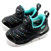 《7+1童鞋》小童 NIKE DYNAMO FREE SE (TD) 輕量毛毛蟲 運動鞋 學步鞋 F868 黑色