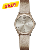 DKNY 紐約佳人都會腕錶/手錶-金屬金/34mm NY2372