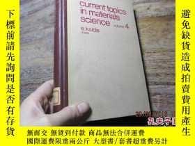 二手書博民逛書店current罕見topics in materials sci