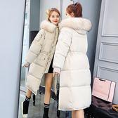 羽絨棉衣服女冬季加厚外套bf面包服冬天中長款棉襖女