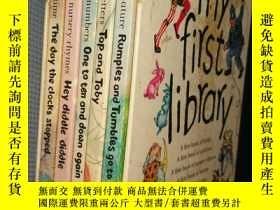 二手書博民逛書店My罕見First Library(全4冊帶盒 精裝英文原版)Y
