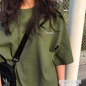 春夏季短袖t恤女裝ins潮別致設計感小眾2021年新款寬松半袖上衣服 居家家生活館