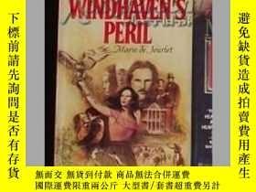 二手書博民逛書店《罕見Windhaven   s peril 》Marie D
