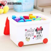 收納箱 整理盒 收納【U0175】日本IRIS迪士尼可拖拉玩具收納箱 完美主義