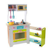 Amuzinc酷比樂 木頭玩具 木質家家酒 組合廚房 15044