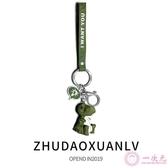 卡通可愛動物鑰匙扣女汽車鑰匙圈鏈創意包掛飾小車鎖鑰匙掛件禮品