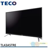 限區配送不安裝/TECO 東元 43吋 FHD液晶顯示器+視訊盒 TL43A5TRE