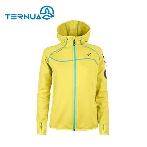 TERNUA 女Power stretch pro保暖外套1642472 / 城市綠洲(透氣彈性快乾、KULA、西班牙)