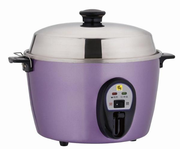 淘禮網  鍋寶 #304不鏽鋼10人份電鍋(ER-1130-D)高貴紫