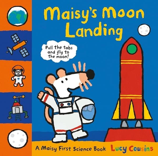 Maisy's Moon Landing 波波登陸月球 精裝立體操作書