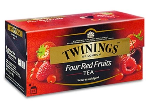 康寧茶 Four Red Fruits 四紅果茶 2gx25入/盒