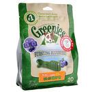 PetLand寵物樂園《Greenies 健綠》健綠潔牙骨 (藍莓/薄荷口味)小型款7-11kg/12oz