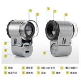 放大鏡高倍高清便攜式50顯微鏡