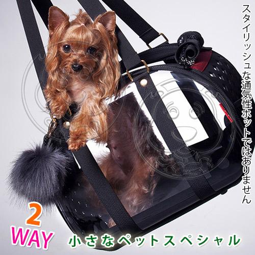 【培菓平價寵物網】IBIYAYA 依比呀呀》FC1620-BL輕巧摺疊小瓏包