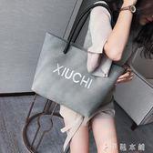 托特包  大包包女女包簡約單肩包女大容量時尚韓版大手提包托特包 伊鞋本鋪