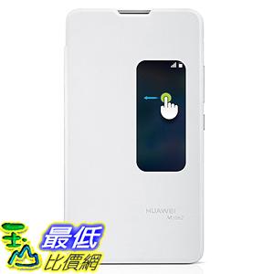 [106美國直購] HUAWEI 手機殼 Ascend Mate 2  Flip Cover Case with Visual Window - White