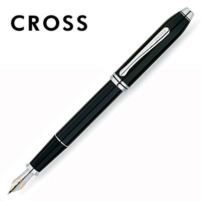 CROSS Townsend 濤聲系列 AT0046-4 黑漆鋼筆 / 支