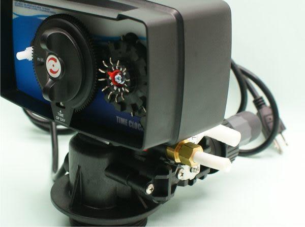 FRP全自動沖洗控制頭.水塔過濾器.餐飲.淨水器.RO純水機前置.地下水處理(貨號L1025)