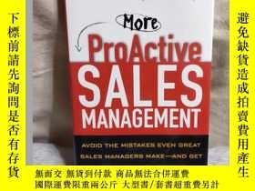 二手書博民逛書店more罕見proactive sales management更積極的銷售管理Y462663 miller
