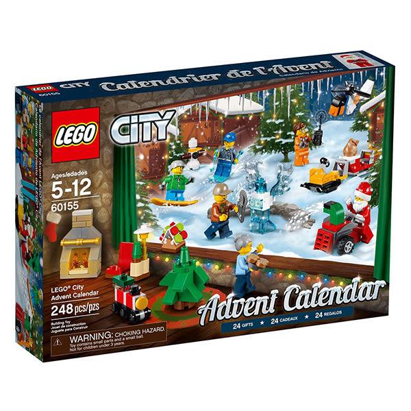 樂高積木LEGO 城市系列 60155 驚喜月曆 Advent Calendar