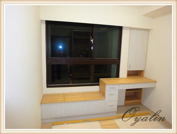 【歐雅 系統家具 】窗邊臥榻結合書櫃
