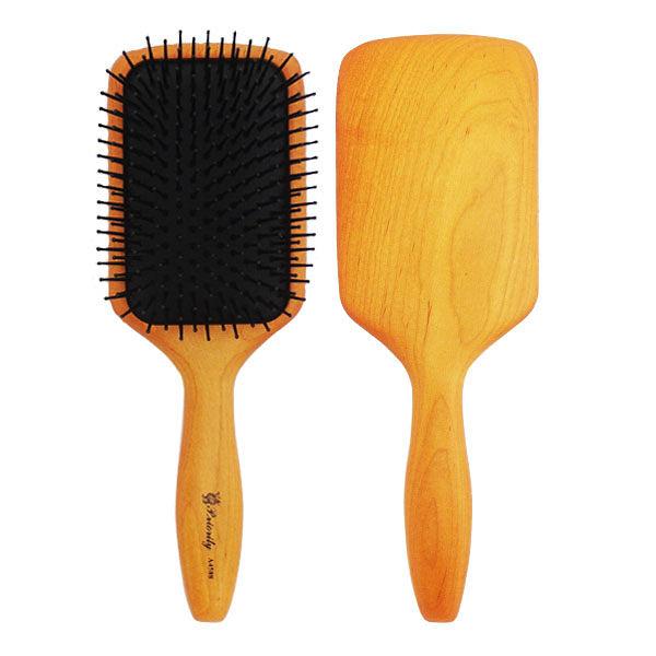 SALON 楓木方型按摩梳 A4588【娜娜香水美妝】梳子 美髮梳
